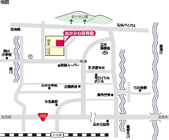 ぬかみね保育園 地図